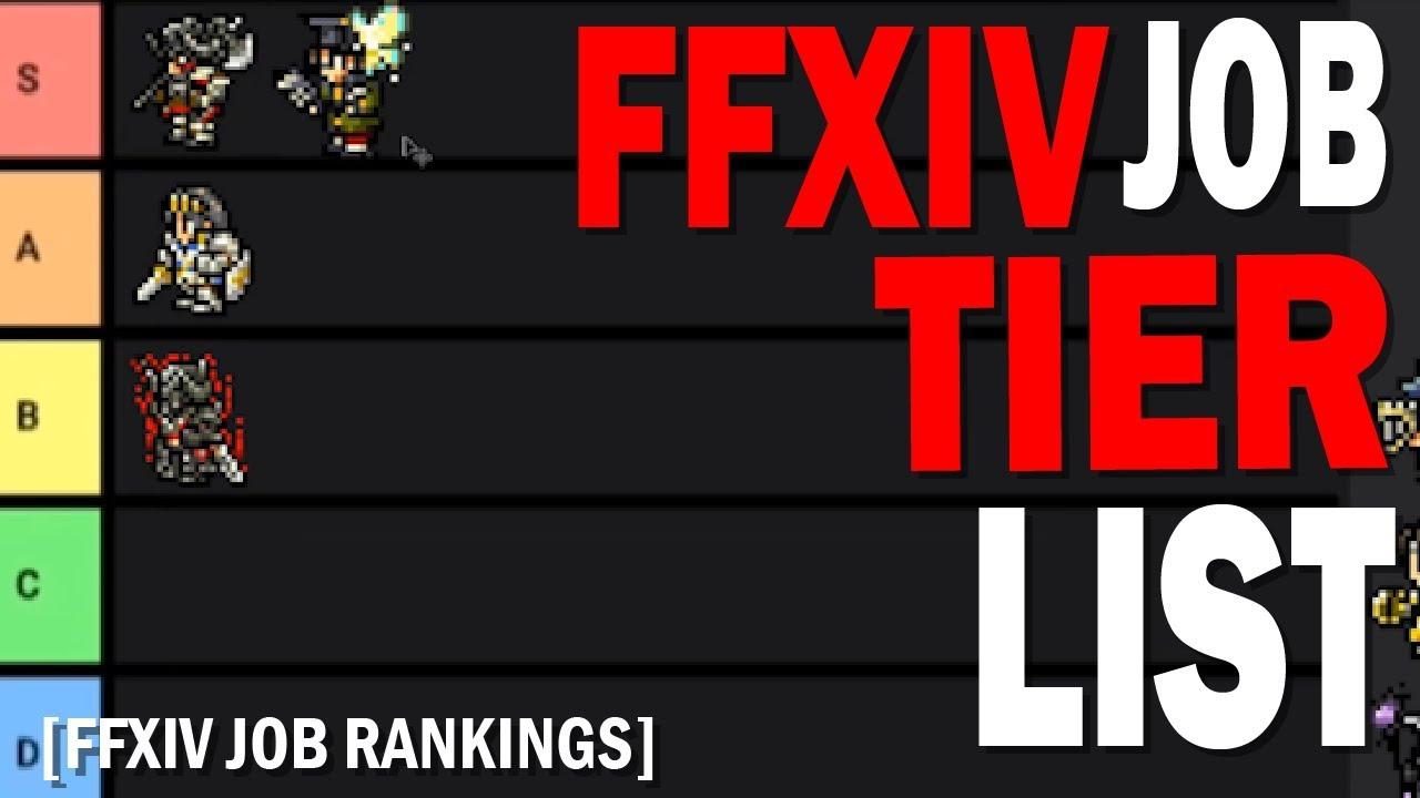 FFXIV Job Tier List | All Jobs Ranked