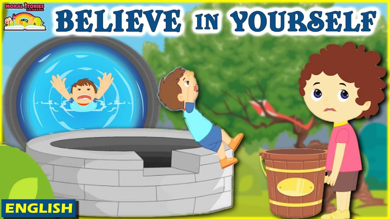 Believe in Yourself | Moral Stories For Kids | English Moral Stories With Ted And Zoe