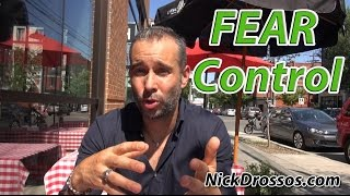 How do Deal with Fear prior to a Fight