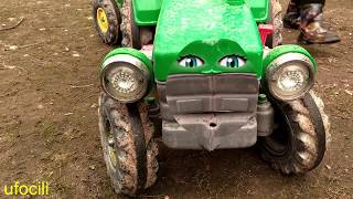 Tractor Garage | Learning Video For Toddlers | Kids Show | Cartoon Video By Kids Channel BEBECİLİ
