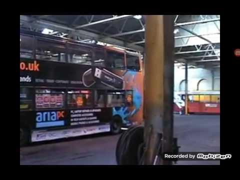 U.K north buses and GM buses gorton lane Depot 2006