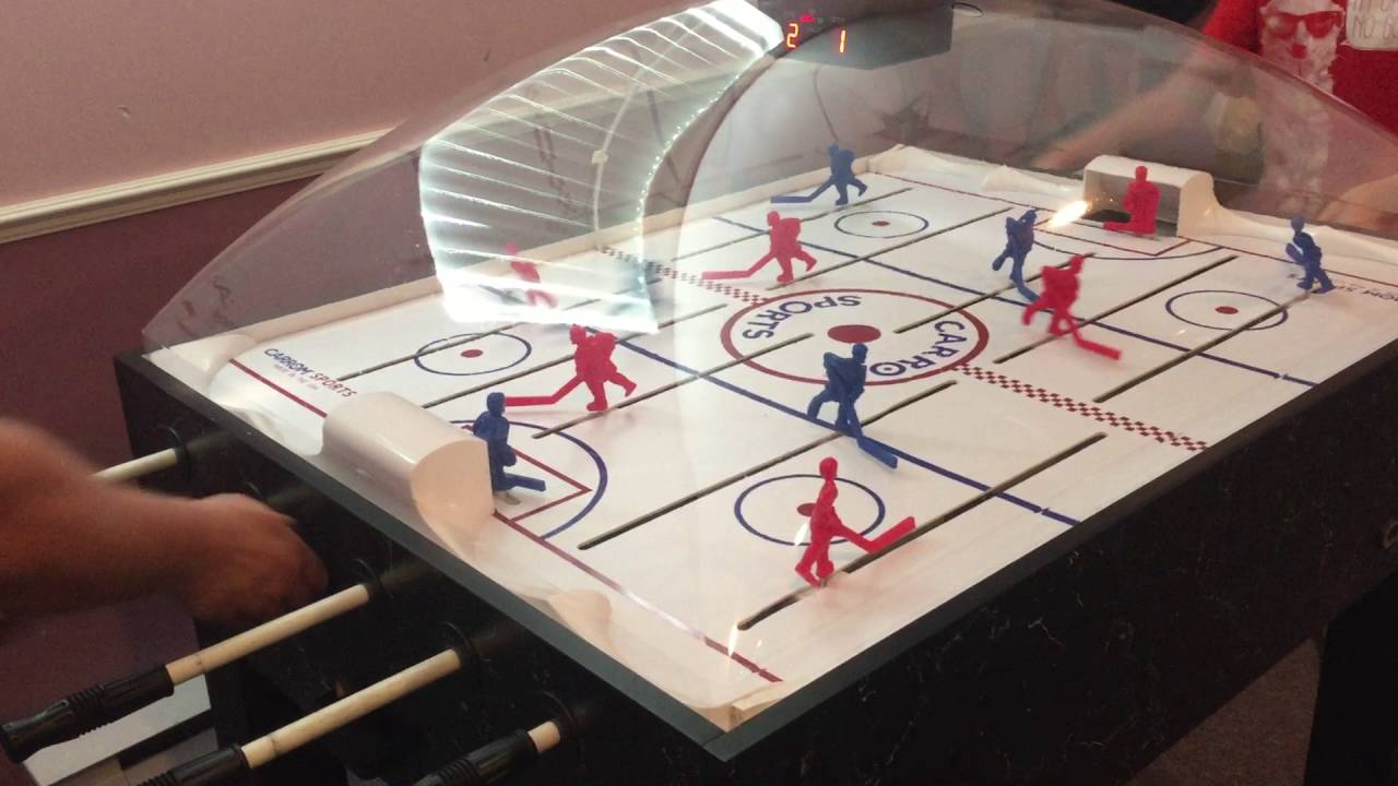 Carrom Dome Bubble Hockey Father Against Son   Part 2