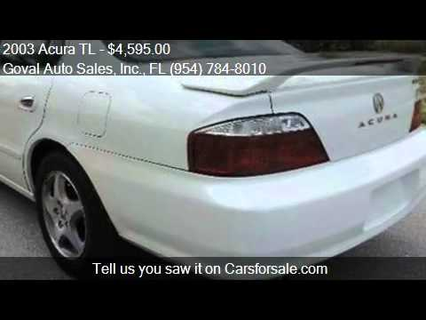 2003 Acura TL For Sale In Pompano Beach, FL 33064 At The Gov
