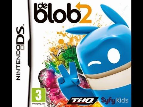 DE BLOB 2 DS GAMEPLAY ;_; PARTE 1