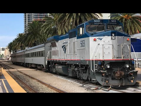 More Railfanning San Diego! Featuring Amtrak 42, CSX & more