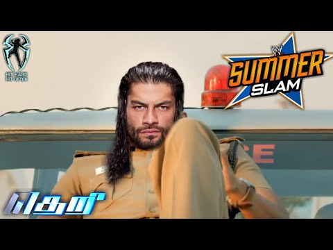 Roman Reigns  Vs  Brock Lesnar | தெறி - Tamil Mass Dialogues | Summer slam | Nothing PersonaL