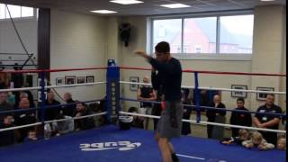 CALLUM SMITH (& JOE GALLAGHER) - COMPLETE WORKOUT FOOTAGE / SMITH v FIELDING / WHO
