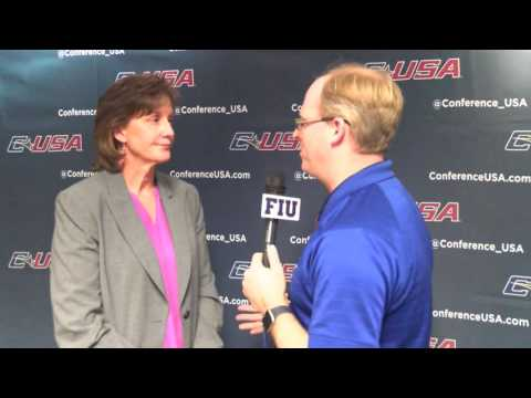 Conference USA Commissioner Judy MacLeod Interview