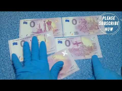 ZERO EURO MONEY COLLECTIONS FRANCE, SPAIN, FINLAND, PORTUGAL, AUSTRIA