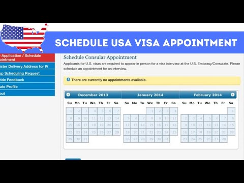 How To Schedule USA Visa Appointment Online | Step By Step 2020