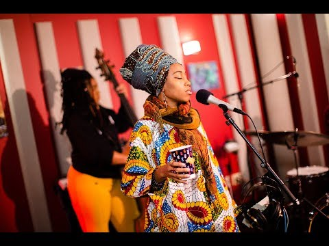 Jazzmeia Horn 'What's Going On' | Live Studio Session
