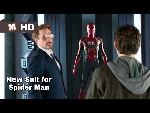Download Spider Man Homecoming Hindi New Suit for Spider Man
