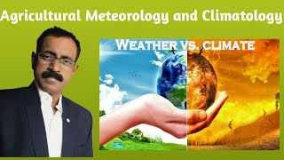 Agricultural Meteorology and Climatology