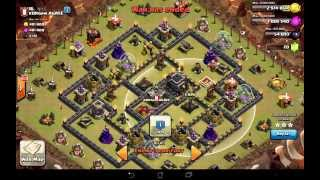 NEW Elite TH9 Attack Strategy: Surgical Hogs