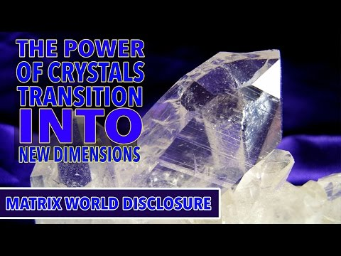 The Power of Crystals and the Transition into the New Dimension NEW!!