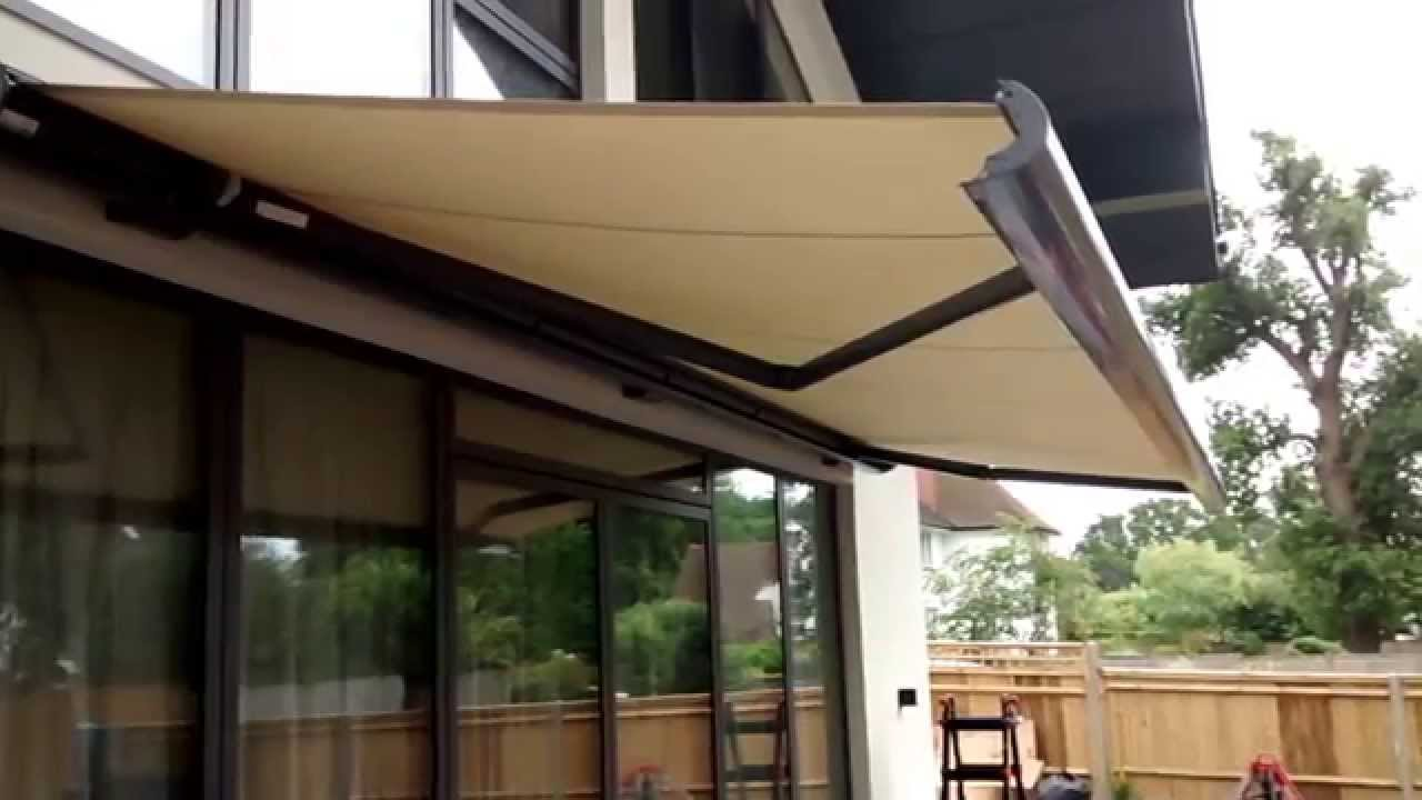 Electric Awning Premier Blinds Awnings 01372 377 112 Youtube