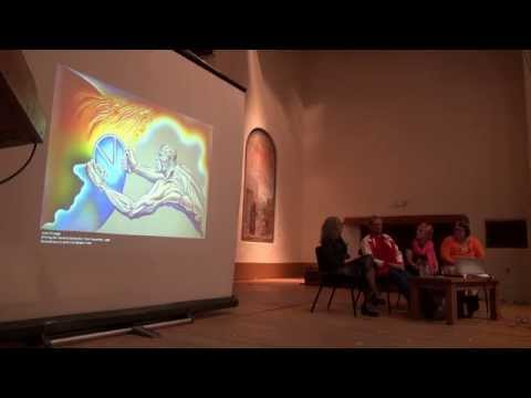 Judy Chicago and Donald Woodman in conversation at New Mexico Museum of Art