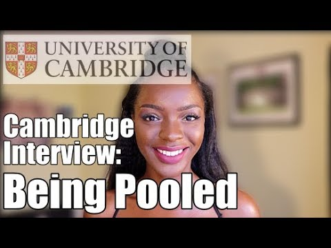 What EXACTLY Happens When You Are Pooled After a Cambridge Interview | SimplyCambridge Ep.3
