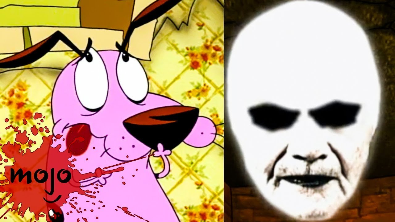 Top 10 Scariest Courage The Cowardly Dog Episodes Youtube