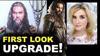 Aquaman Movie Official FIRST LOOK - NEW ARMOR