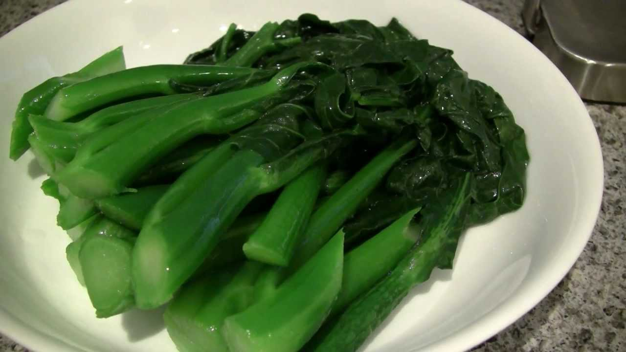 Hd Recipe Broccoli With Oyster Sauce   Doovi-8001