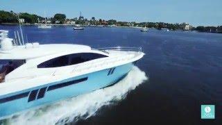 Motor Yacht CARBON - 2009 Lazzara Yachts LSX 75'