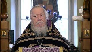 Протоиерей Димитрий Смирнов. Проповедь о лукавстве, равнодушии и духовной слепоте