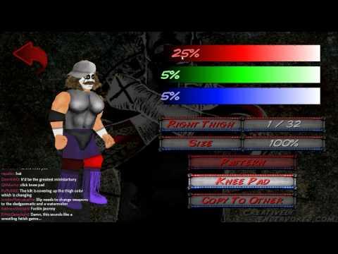 nL Live on Hitbox.tv - Wrestling Revolution! (Part 1) [PC]