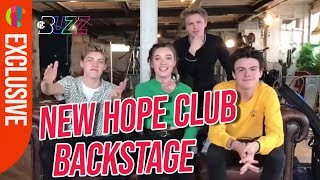 New Hope Club Backstage Answer Your Buzz Questions with Rio