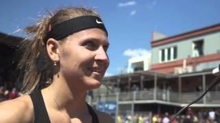 Lucie Šafářová po postupu do finále J&T Banka Prague Open 2016