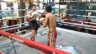 Pakorn and Sangmanee Sparing @ 13 Coins Gym