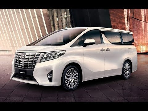 The New 2019 Toyota Alphard Hybrid Luxury Minivan