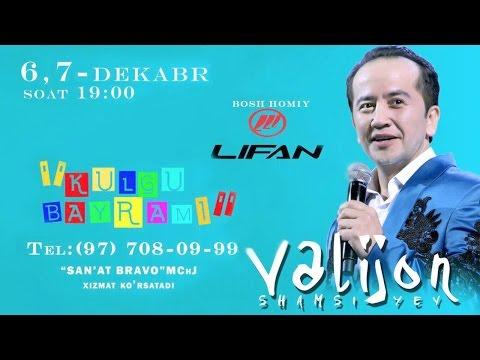 Valijon Shamshiyev - Kulgu bayrami nomli konsert dasturi 2015