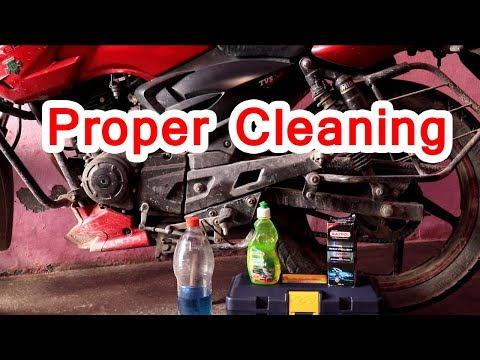 proper bike cleaning
