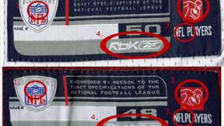 Authentic NFL Jersey or Fake NFL Jersey - pt.1 Jocktags - YouTube