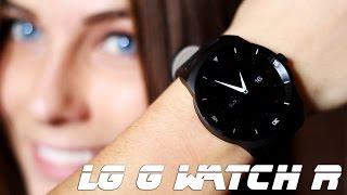 LG G Watch R - полный обзор умных часов