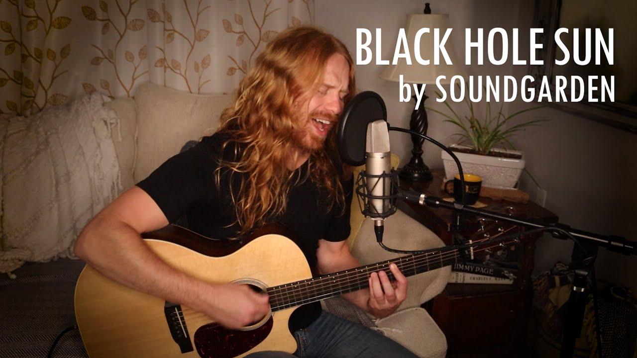 """Black Hole Sun"" by Soundgarden - Adam Pearce (Acoustic Cover)"
