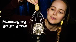 ASMR Scratching Your Brain