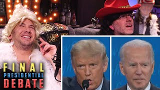 Biden vs. Trump! Final Presidential Debate | Donald Trump Jr. and Sen Ted Cruz Guest | #CrowderMania