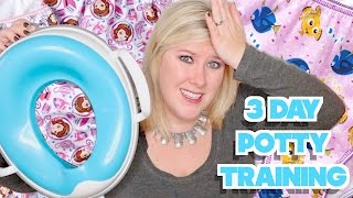 🚽HOW TO POTTY TRAIN IN 3 DAYS!💦
