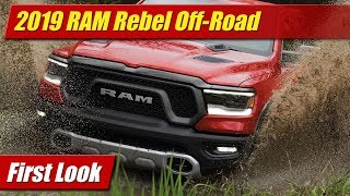 2019 RAM Rebel Off-Road: First Look