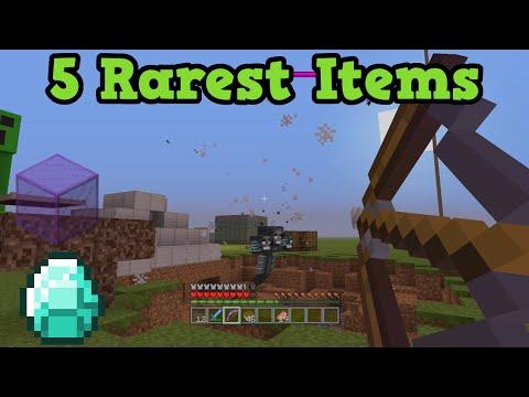 minecraft-xbox-360-ps3-top-5-rarest-items