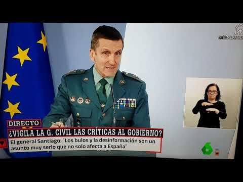 Estado de Alarma España. General Santiago aclara sus polémicas ...
