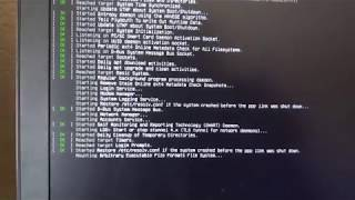 Kali Linux not Loading Properly - Thread in Description