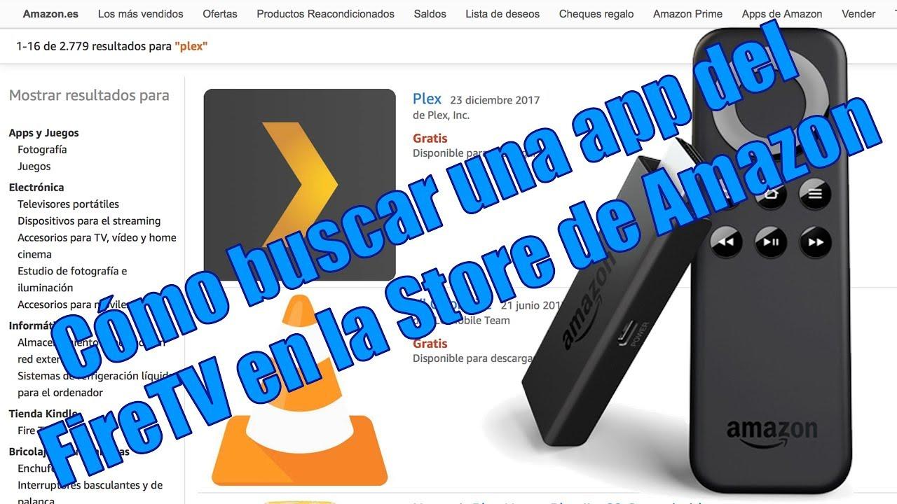 Cómo Buscar Una App Fire TV Dentro De La Store De Amazon