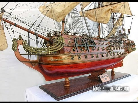 "San Felipe Model Ship 56"" LARGE scale"