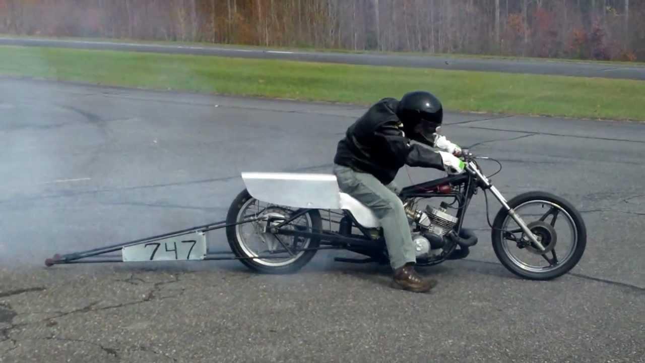 Kawasaki H2 Drag Bike Smokin Two Stroke Youtube