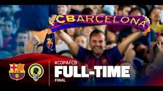 Fc barcelona vs hercules 7-0 (arabic commentary)