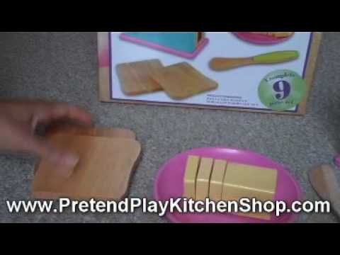 Kidkraft Bright Toaster Set 63176 - Fun Play Kitchen Accessory