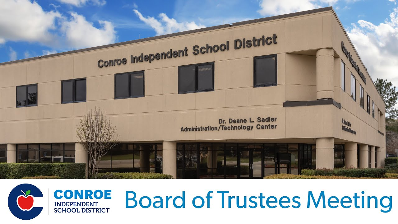 Download Conroe ISD - Budget Board Workshop - August 6, 2019